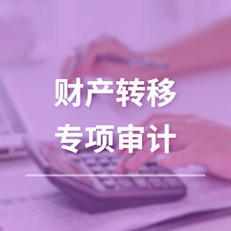 财产转移专项审计